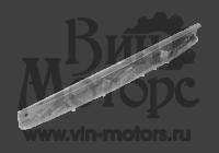 Кронштейн пере бампера А15  ЛЕВЫЙ (направляющая)