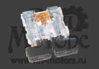 Кнопка кондиционера Амулет (желтый светоид)