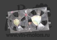 Вентилятор радиатора Амулет двойной