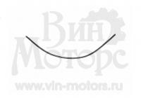 Уплотнитель лобового стекла правый (короткий)